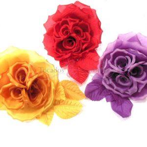 Flor triple cáliz
