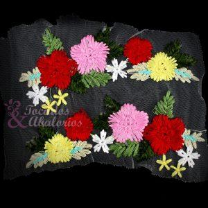 Bordado Floral Tul (Pareja)