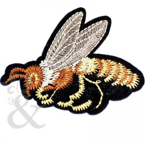 Aplique termoadhesivo abeja