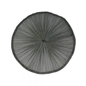 BASE SINAMAY SOIE PLISSÉE 32CM noir
