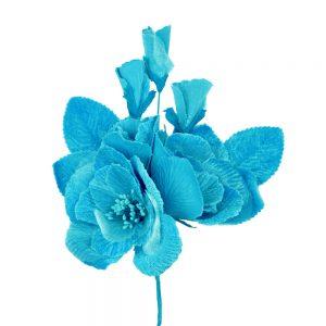 BOUQUET ENSUEÑO 24X18CM turquoise