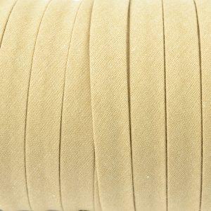 Cordon spaghetti coton 10mm beige