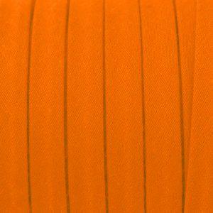 Cordon spaghetti coton 10mm orange