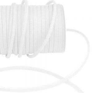 Cordon spaghetti organdi 07mm blanc