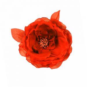 FLEUR LADY SOIE rouge