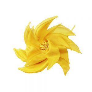 FLEUR MOULIN 14CM jaune