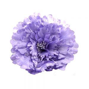 Flor de seda 20 cm lila