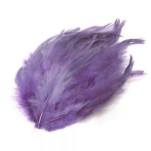 PADS PLUME DE COQ violet