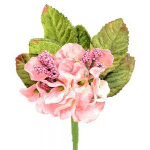 Petunia de terciopelo rosa palo