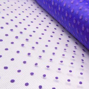 TULLE PLUMETIS 48CM violet