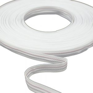 ballena poliester con alambre blanco