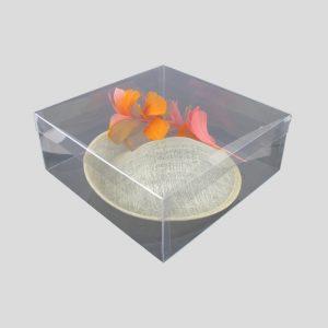 boite carree 26x10 haute qualite transparent