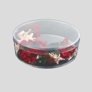 boite cylindrique 15x05 haute qualite transparent