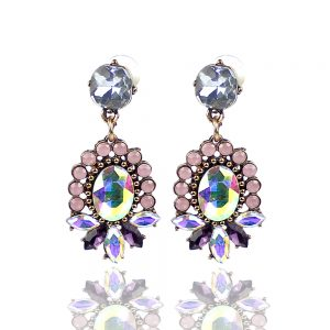 boucles doreille holly rose bisque 2