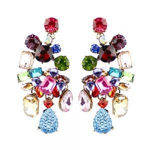 boucles doreille selma multicolore
