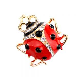 broche ladybug
