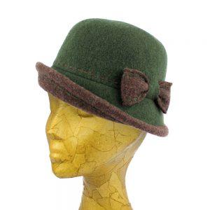 chapeau melon brunella vert veronese