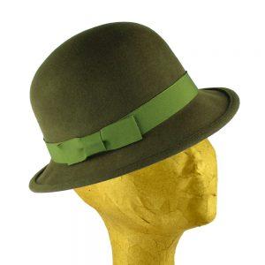chapeau melon didier vert veronese