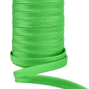 cordon spaghetti satin 10 mm vert jungle