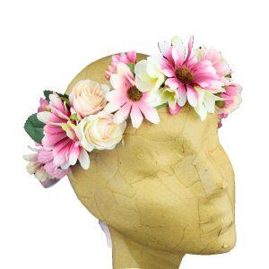 corona de flores cloe
