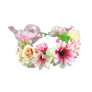 corona de flores cloe multicolor