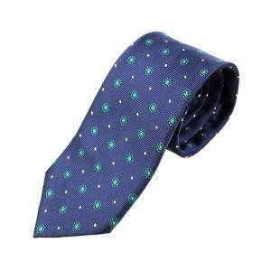 cravate adonis fleur vert hooker