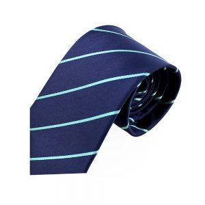 cravate anibal bleu marin