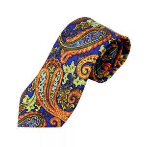 cravate apolo paisley