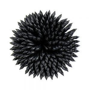 creuset de fleurs noir