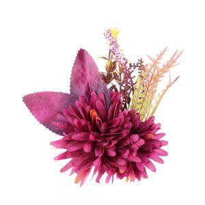 ensamble floral fronda