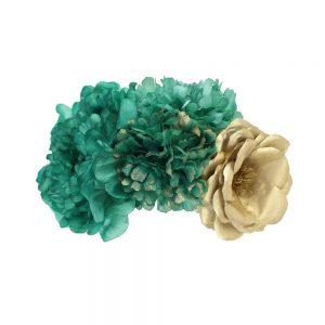 ensamble floral lola vert eau