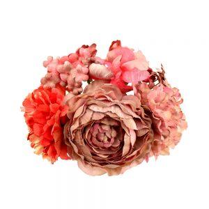 ensemble floral gala rouge moyen 2