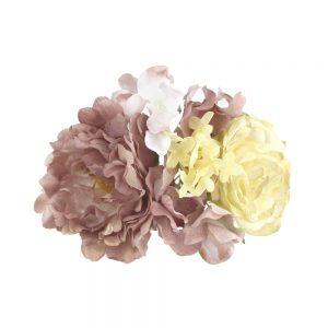 ensemble floral rocio mauve