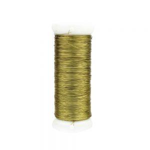 fil cuivre 0,20 mm or