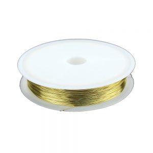 fil cuivre 0,30 mm or