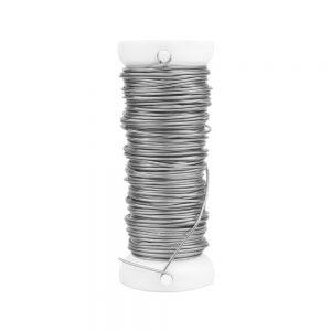 fil cuivre 0,60 mm or argent