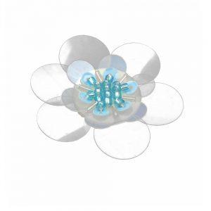 fleur coco blanc