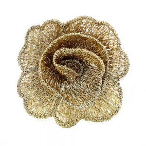 fleur guipure 50 mm or