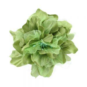 fleur noname vert poudre