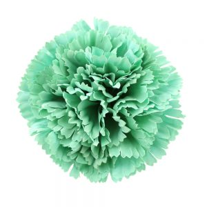 fleur oeillet 09cm vert eau