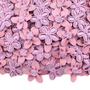 galon fleurs avec broderies 2,5cm