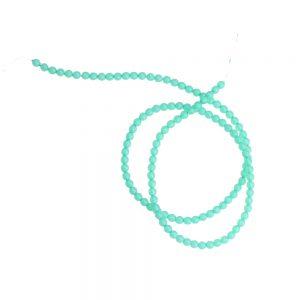 perles verre 04 mm vert eau