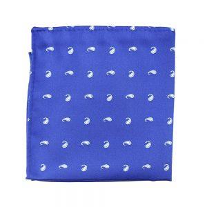 pochette cachemir bleu klein