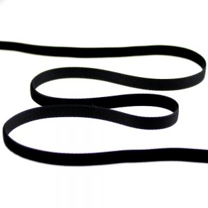 ruban velours 07 mm noir