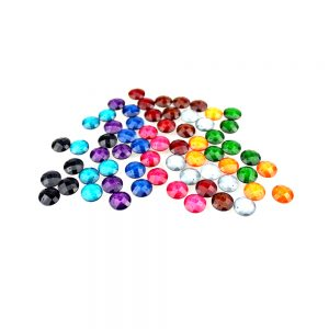 strass rond marbre 12 mm