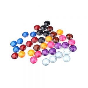 strass rond marbre 16 mm