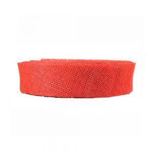 ruban sinamay 3 cm rouge